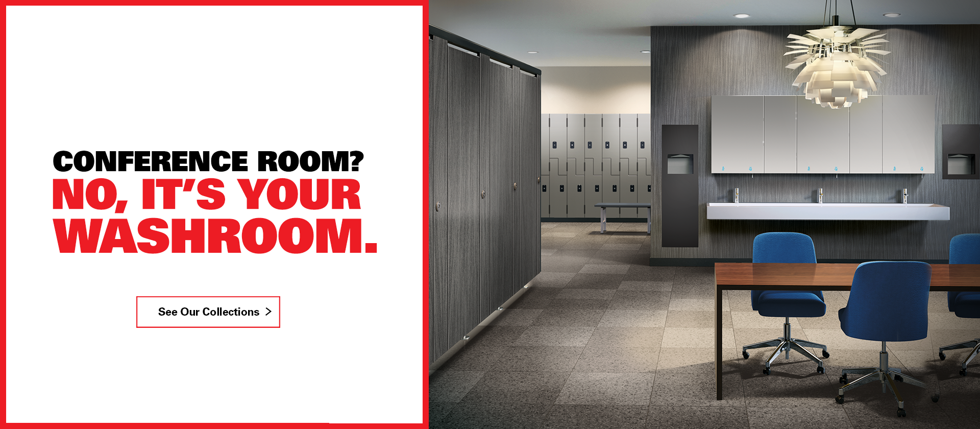 Conference Room? No, It's Your Washroom.